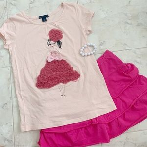 LIKE FOR DISCOUNT! NEW Pretty Pink Girls Tee